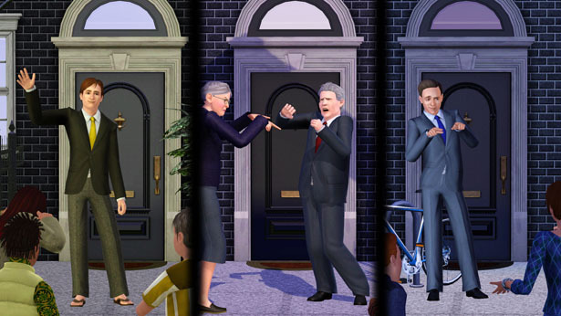 The Sims 3 takes on the 2010 UK Elections