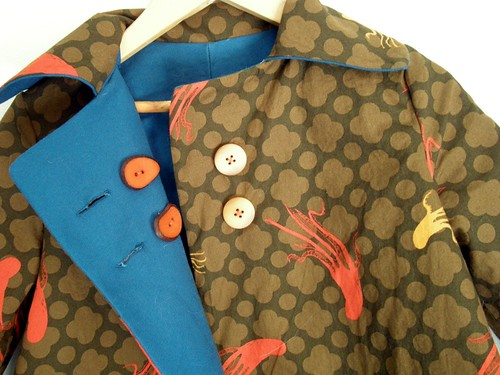 Octo Jacket - Brown Side Open