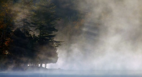 Moody Morning on Stormy Lake by Roger's Eye