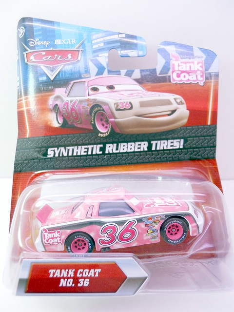 DISNEY CARS KMART COLLECTOR DAY 5  TANK COAT RACER (1)