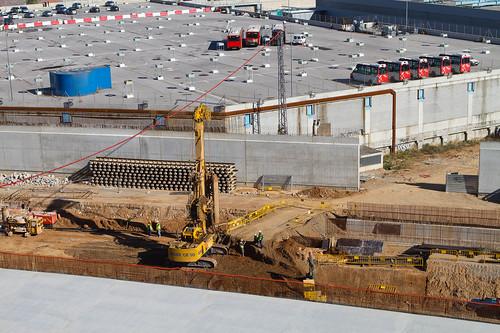Trabajos en triangle ferroviari - 11-11-10
