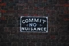 Commit No Nuisance - Heffernan Lane, Melbourne