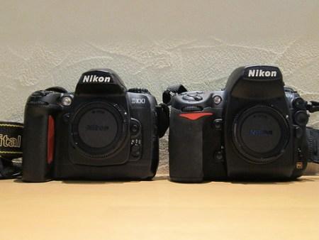 Nikon D100とD700