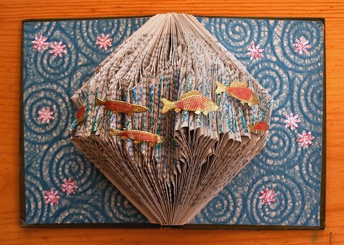 Altered Book: Swimming in a Sea of Words