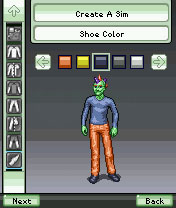 13 screens of The Sims 3 World Adventures (mobile)