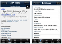 JiraTouch for iPhone