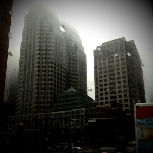 Foggy Boston