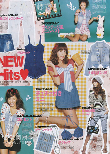 ViVi March-2010 Denim trend