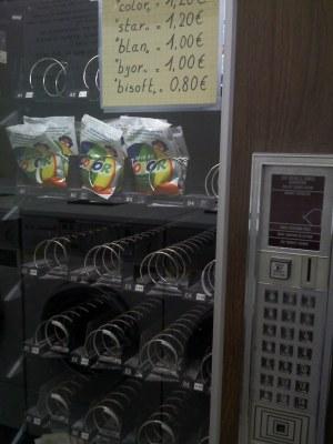 Waspoederautomaat
