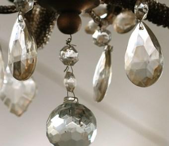 antique chandelier close