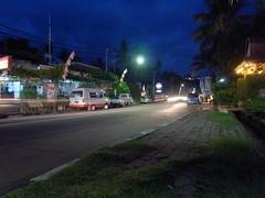 Senngigi鬧區的街頭