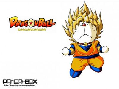 Super Saiya Doraemon