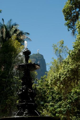 Jardim Botânico Corcovado ao Fundo
