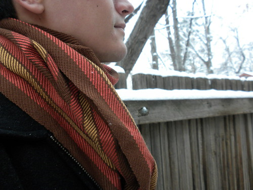 Mike's Scarf, Detail
