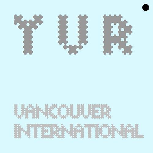 ARILINE CODES YVR VANCOUVER INTERNATIONAL BAGGAGE TAG