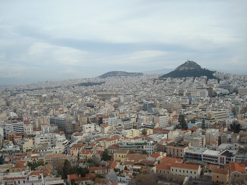 From atop the Acropolis