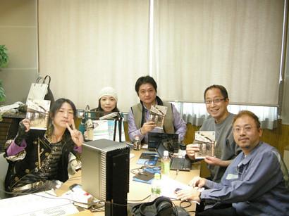 2010/3/15 FM福井「あばさけビジネス道」の収録