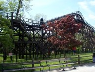 Cedar Point - Cedar Creek Mine Ride Broken Down