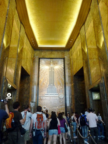 the empire state bldg lobby