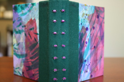 Green clothbound journal