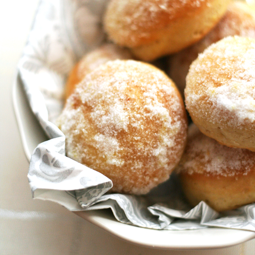 lemon doughnuts (12th June)