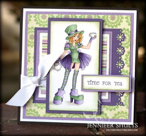 Mad Hatter Card 1