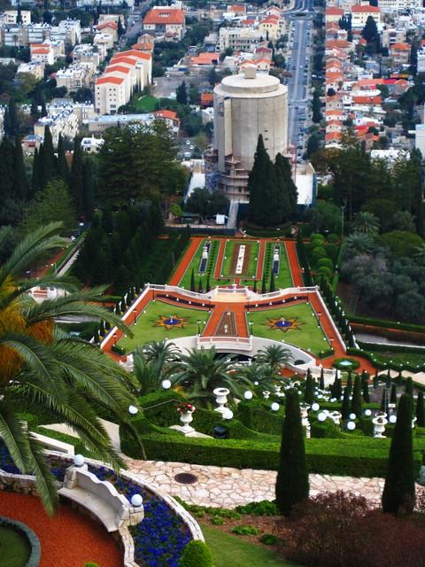 Upper Terraces & Shrine of the Bab