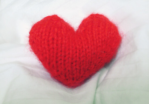 Knitted Heart...