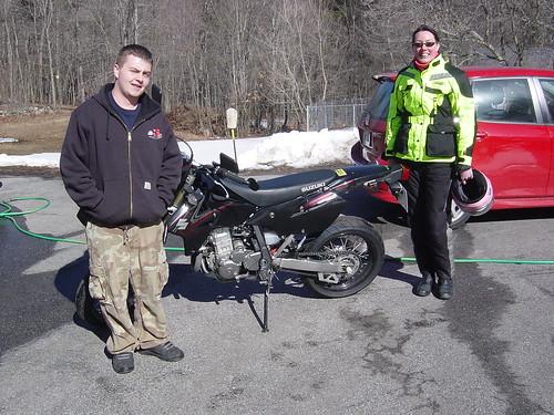 Jesse & Me with the DRZ400SM