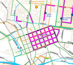 "Central Melbourne ""SmartRoads"" diagram"