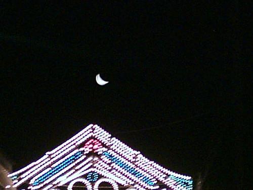 luna sul lume