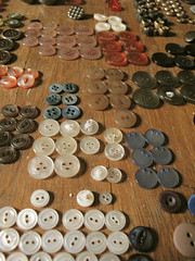 button collection: detail