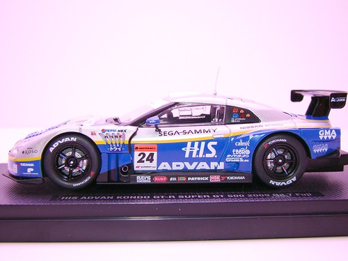 EBBRO HIS ADVAN KONDO GT-R SUPER GT 500 2009 RD.7 FUJI (2)