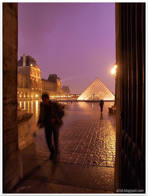 When the rain came...