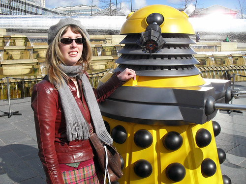 Me with an Eternal Dalek