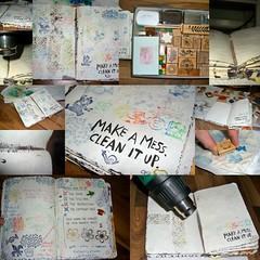 WTJ-Make a Mess - CLEAN it up - pages 98-99 - ...
