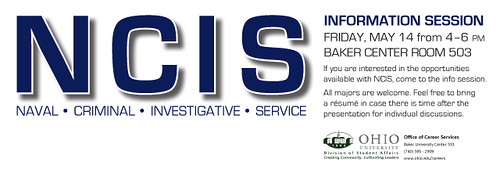 NCIS Information Session