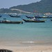fishing boats at Cham Island