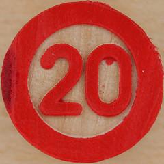 Bingo Number 20