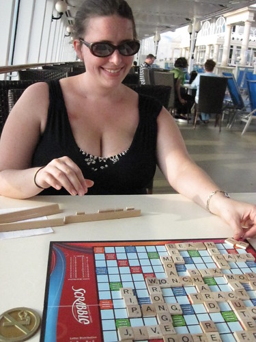 Scrabble at Sea