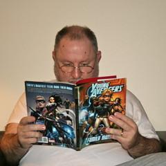 I'm Todd Jordan and I read graphic novels