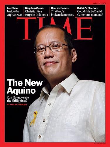Noynoy Aquino in Time magazine