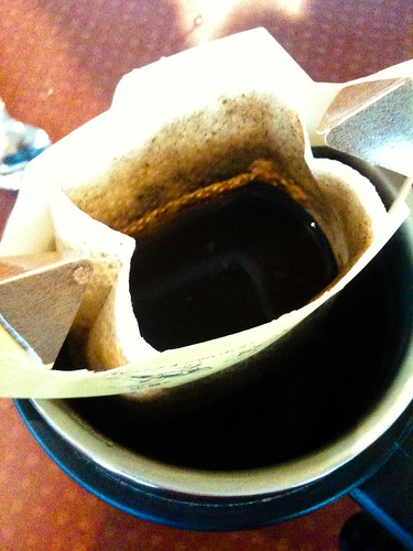 coffee top view