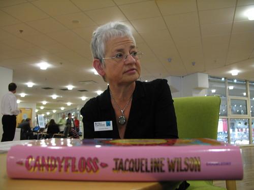 Jacqueline Wilson i Göteborg 2006