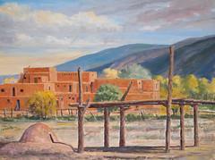 Taos Pueblos - 24x36
