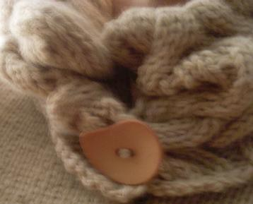 Snow Drift Cardigan Button