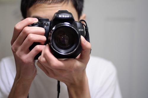 Nikon D5000 Mirror Shot