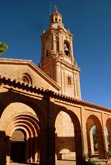 Vista exterior de la iglesia de San Andrés