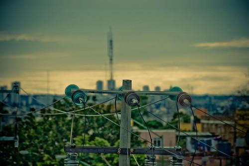 Un adorno a la contaminacion visual, Poste de Luz