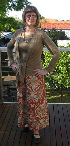 Deer Valley A-line skirt